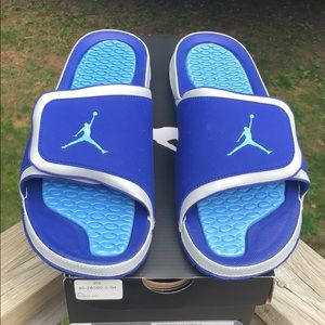 24f31d46b Jordan Shoes - Jordan Hydro 2 Sandals   Slides Size 11 Blue New!